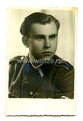 Waffen-SS Portraitfoto, SS-Rottenführer der Leibstandarte Adolf Hitler