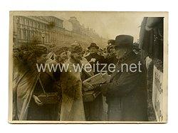 III.Reich Pressefoto: Sehr viel Glück auf einmal... 14.12.1940