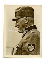 III. Reich Pressefoto: Reichsarbeitsführer Staatssektretär Konstantin Hierl 24.8.1943
