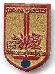 III. Reich - 100 Jahrfeier Sängergau Kurhessen 1839-1939