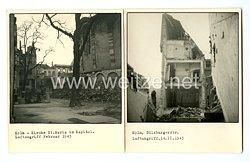 III. Reich Fotos, Köln nach einem Luftangriff 1943