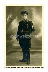 III.Reich Foto, Wachmann-Anwärter bei dem Werksicherheitsdienst