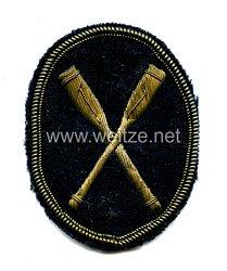 RuderklubMützenabzeichen für die blaue Schirmmütze