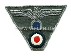 Wehrmacht Heer Mützenemblem für die Einheitsfeldmütze M 43 für Mannschaften
