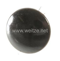 Wehrmacht Einzel Knopf für die Mannschafts - Schirmmütze