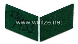 SA Paar Kragenspiegel für Mannschaften SA-Gruppe KurpfalzSturm 23 der Standarte 153