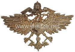 Kaiserliche Schutztruppe großer Adler für den Tarbusch der Askari