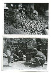 Wehrmacht Pressefotos: Aufnahmen aus dem Kampfgebiet umKrementschuk Ukraine