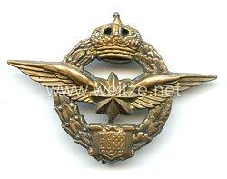 Königreich Jugoslawien Abzeichen für Flugzeugbeobachter