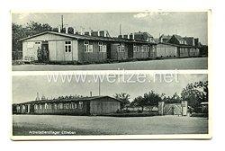 Reichsarbeitsdienst (RAD) - Postkarte, RAD Arbeitsdienstlager Ettleben