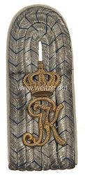 Bayern Einzel Schulterstück für einen Leutnant im 3. Infanterie-Regiment Prinz Karl von Bayern