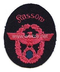 """III. Reich Feuerwehr Ärmeladler """" Kassow """""""