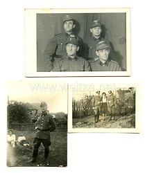 III. Reich Fotos, Angehörige desNationalsozialistisches Kraftfahrkorps (NSKK)