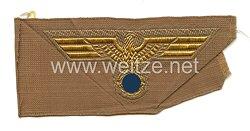 Kriegsmarine Afrikakorps Tropenadler für das Schiffchen bzw. Tropenfeldmütze