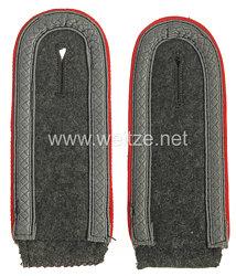 Wehrmacht Heer Paar Schulterklappen für einen Unteroffizier der Artillerie