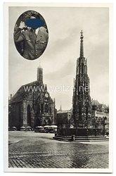 """III. Reich - Propaganda-Postkarte - """" Reichsparteitag Nürnberg 1923-1933 """""""