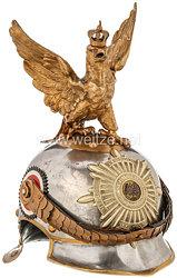 Preußen Helm Modell 1889/94 für Unteroffiziere der Leibgendarmerie
