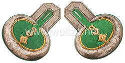 Preußen Paar Epauletten für einen Oberleutnant im Regiment Jäger zu Pferde Nr. 3