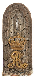 Preußen Einzel Schulterstück für einen Leutnant im Dragoner-Regiment König Albert von Sachsen (Ostpreußisches) Nr. 10.