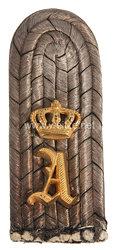 Oldenburg Einzel Schulterstück für einen Leutnant im Dragoner-Regiment Nr. 19