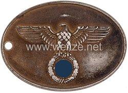 """III. Reich Polizei Dienstmarke """"Gemeinde-Kriminalpolizei"""" Nr. 656"""