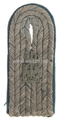 Preußen 1. Weltkrieg Einzel Schulterstück für einen Beamten der Militärjustizverwaltung im Range des Militärgerichtsassistenten