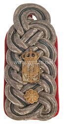 Preußen Einzel Schulterstück für einen Beamten der Militär-Intendantur im Range des Militärintendanten 3. Klasse
