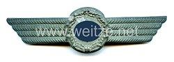 Luftwaffe Schirmmützenabzeichen für einen Zivilangestellten als Pförtner oder Fahrstuhlführer