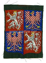 Protektorat Böhmen und Mähren - Ärmelschild der Luftschutzpolizei Böhmen-Mähren