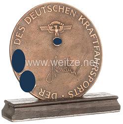 """NSKK / O.N.S. - große nichttragbare Auszeichnung - """" Kraftfahrzeug Winterprüfung 1937 """""""