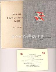 III. Reich - Handelsmarine - 50 Jahre Deutsche Levante Fahrt 1889-1939 - Deutsche Levante-Linie Hamburg A.G.