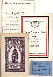 Deutsches Reich - Einweihung des Nagelungs-Standbildes Graf von der Mark in Hamm/Westfalen 1916