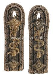 Preußen Paar Schulterstücke für einen Stabsarzt