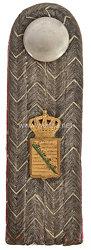 Königreich Sachsen Einzel Schulterstück für einen Oberapotheker