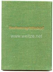 III. Reich - Industrie- und Handelskammer Wiesbaden - Kaufmannsgehilfenbrief