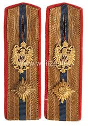 Deutsche Reichspost Paar Schulterstücke für einen Post-/Telegraphenassistent.