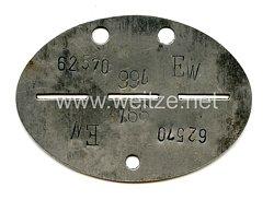 Luftwaffe Erkennungsmarke 8. Kompanie Fallschirmjäger Ersatz Regiment 1 Eberswald