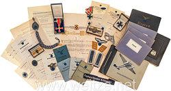 "Luftwaffe - Großer Nachlass eines Feldwebels im Jagdgeschwader "" Schlageter "" Nr.26"