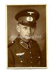 III. Reich Portraitfoto eines Justizwachtmeister in einer Vollzugsanstalt