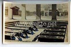 """III. Reich - Propaganda-Postkarte - """" München, Ehrentempel für die Gefallenen des 9. November 1923 """""""
