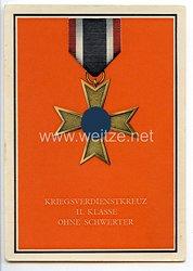 """III. Reich - farbige Propaganda-Postkarte - """" Die Kriegsorden des Grossdeutschen Reiches """" - Nr. 8"""