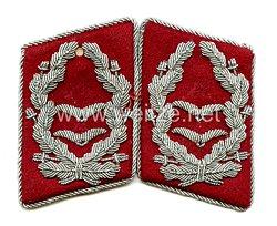 Luftwaffe Paar Kragenspiegel für einen Richter
