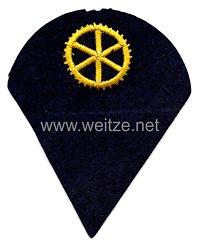 Kriegsmarine Ärmelabzeichen Mannschaften Maschinenlaufbahn