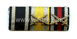 Bandspange eines sächsischen Veteranendes 1. Weltkriegs