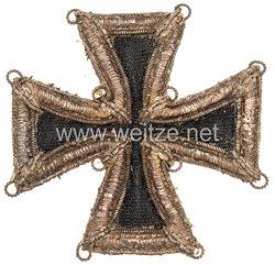 Eisernes Kreuz 1813 1. Klasse - handgestickte Ausführung !