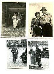 Wehrmacht Heer Fotokonvolut, Hochzeit eines Offizier der Wehrmacht
