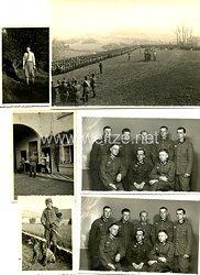 Wehrmacht Heer Fotokonvolut, Angehöriger des RAD und später Soldat