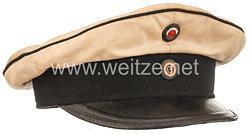 Preußen Schirmmütze für einen Unteroffizier im Leib-Kürassier-Regiment Großer Kurfürst (Schlesisches) Nr. 1