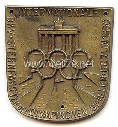 XI. Olympischen Spiele 1936 Berlin - Erinnerungsplakette