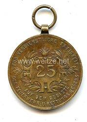 Verdienstmedaille 25 Jahre für Tätigkeit im Feuerwehr/Rettungswesens